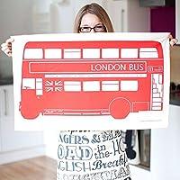 London Bus Tea Towel (Dish Cloth)