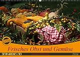 Frisches Obst und Gemüse (Wandkalender 2019 DIN A2 quer): Gesunde Nahrungsmittel (Monatskalender, 14 Seiten ) (CALVENDO Lifestyle)