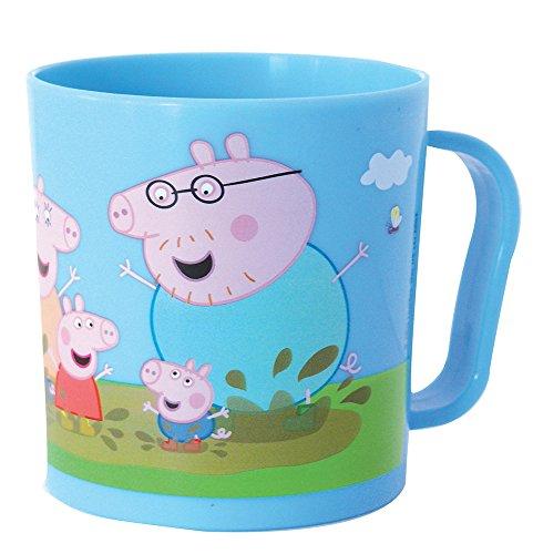 7 Enfant Cm Mug 8 2 Fun Peppa X 8 005174 Pour 5 PolypropyleneBleu10 House Pig iuOkZXP