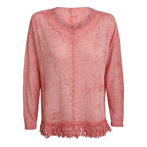 damen-langarmshirt-maglia-ampia-von-bleifrei-farbe-melo-l