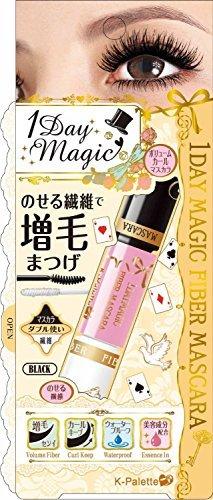 K-Palette 1 Day Magic Fiber Mascara 01 Black
