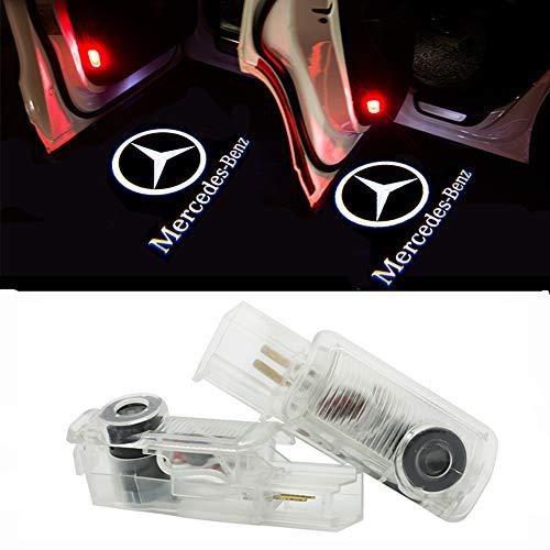 Preisvergleich Produktbild HUAYIN 2 Stück Autotür Logo Türbeleuchtung Einstiegsleuchte Projektion Licht