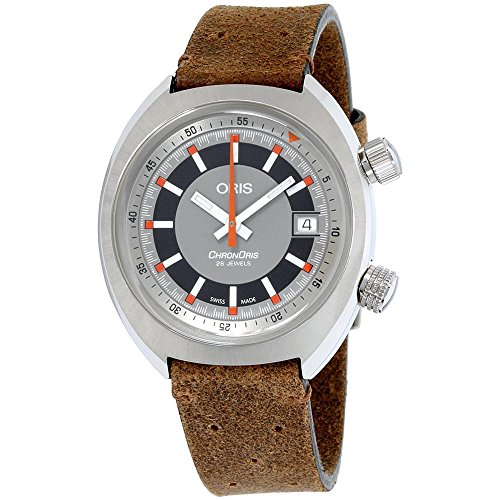 Oris Chronoris Homme 39mm Automatique Montre 01 733 7737 4053-LSBRN