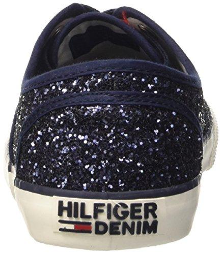 Tommy Hilfiger H1385ILTON 3g, Scarpe Low-Top Donna Blu (Midnight 403)
