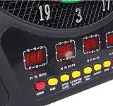 Homcom Elektronische Dartscheibe Dartboard Dartscheibe 8 Spielmodi Sound 6 Pfeile 24 Spitzen inkl. Flights Vergleich