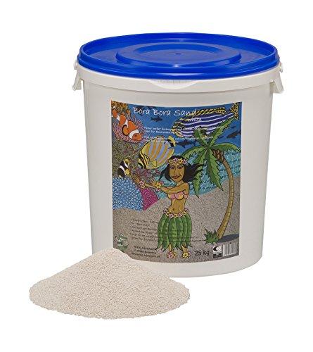 Preis 268 Bora Sand Bodengrund für Meerwasseraquarien, 25 kg, fein, weiß - Sand Marine
