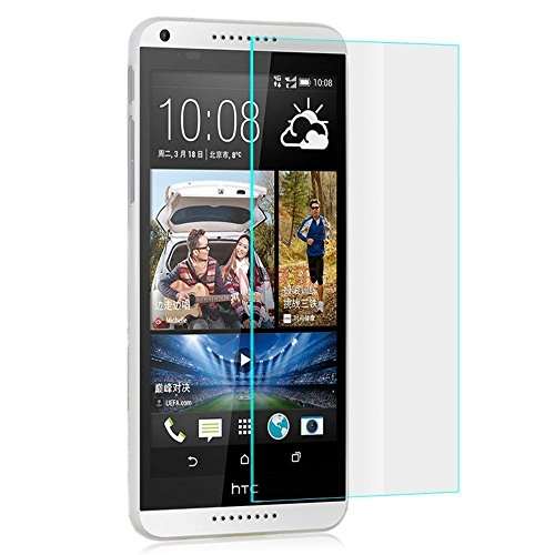 PLESURE High Quality Tempered Glass 0.3 MM Explosion Proof Screen Protector for HTC DESIRE 816  available at amazon for Rs.149