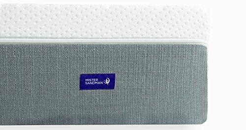 Liara Matratze - Mister Sandman - 25cm - Latex, Viscoschaum, Kaltschaum mit 7-Zonen Würfelschnitt, Größe wählbar, 2in1 Härtegrade, Bezug waschbar, Made in Germany, Öko-Tex
