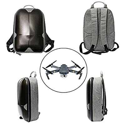 Ularma Hard Shell Carrying Backpack Bag Waterproof Anti-Shock Case For DJI Mavic Pro
