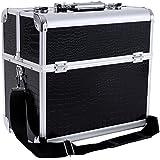 Songmics vanity beauty case pro lockable Make up Storage JBC229B