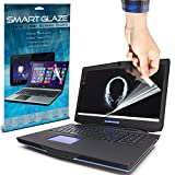 SmartGlaze ( Pack Of 6 ) Alienware 17 Laptop Case Brand New Luxury Crystal Clear Premium LCD Screen Protectors Packs With Polishing Cloth & Application Card