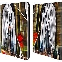 Ufficiale Haroulita Brooklyn Bridge Luoghi 2 Cover a portafoglio in pelle per Apple iPad Air