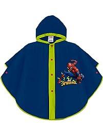 17597720c PERLETTI Poncho Impermeable Spiderman - Chubasquero Capa de Lluvia Niño  Estampado Marvel Spider Man Hombre Araña