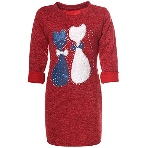 Rote Tunika Kleid Bei Kostumehde