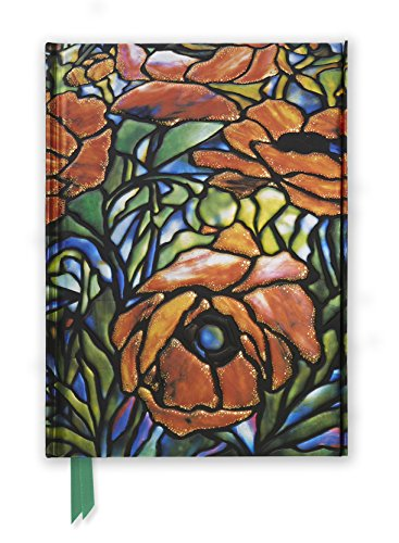 Tiffany: Oriental Poppy (Foiled Journal) (Flame Tree Notebooks)