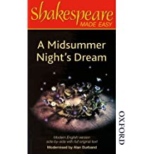 Shakespeare Made Easy - A Midsummer Night's Dream by Alan Durband (1989-10-01)
