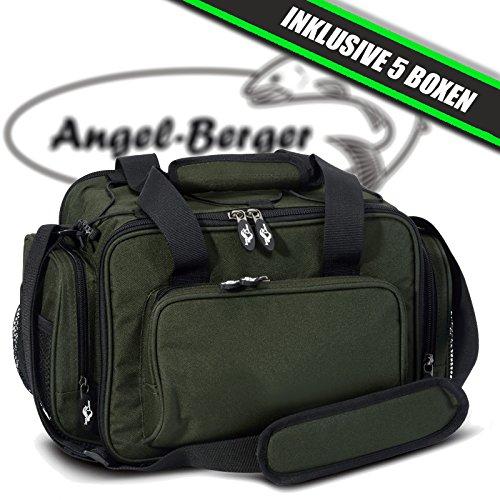 Luxus Angeltasche mittel Zubehörtasche Kunstködertasche mit Boxen