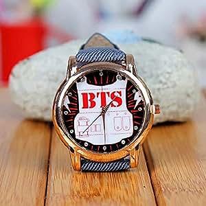 KPOP Bangtan Boys BTS support Wristband wrist watch