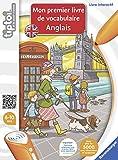 Tiptoi - Mon Premier Livre de Vocabulaire Anglais de Ravensburger est une méthode simple et efficace pour apprendre ses premiers mots dans la langue de Shakespeare. Connaître un minimum d'anglais est devenu la règle. Si le français est la langue de l...