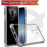 Knotyy Samsung Galaxy A6 Plus Cover/Samsung A6 Plus Back Cover/Samsung A6 Plus Soft Premium Quality Hybrid Protective Bumper Back Cover/Samsung A6 Plus Bumper Cover