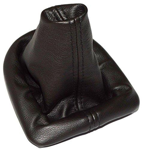 Aerzetix - Rahmen und Schaltsack Schalthebelmanschetten Schalthebelmanschette Schaltbetätigungs Schwarz Farbe Kunstleder