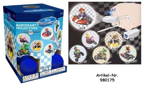 Überraschungskugel Mario Kart Wii Taschenprojektoren 12er Display