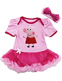 Peppa Pig-inspired Infant Tutu Outfit (6-9 Months)