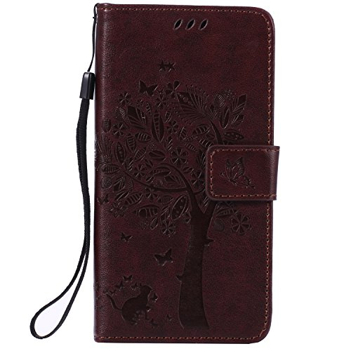 sony-xperia-z3-case-leather-brown-cozy-hut-wallet-case-premium-soft-pu-leather-notebook-wallet-embos