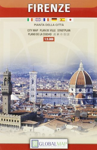 Florence, Tourist {Firenze} City Center (English, Spanish, French, Italian and German Edition) by Litografia artistica cartografica (2000-01-01) - Florence City Center