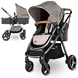 Lionelo Greet 2 in 1 Baby Pushchair Complete Set with Soft Baby Bath and Accessories   9