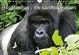 Berggorillas - die sanften Riesen (Wandkalender 2019 DIN A4 quer): Berggorillas in ihrem natürlichen Lebensraum, eine emotionale Begegnung der Superlative (Monatskalender, 14 Seiten ) (CALVENDO Tiere)