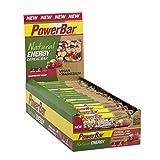 PowerBar Energieriegel mit komplexen Kohlenhydraten für Energie beim Sport – Power-Riegel, Fitness-Riegel, Müsli-Riegel mit Vollkornhaferflocken – Vegan – 24 x 40g Raspberry Crisp