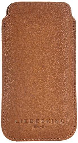 Liebeskind Berlin Mobilei6 vintage, Custodia per cellulare Marrone (Braun (cognac 0006))