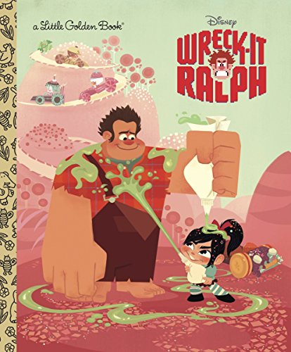 Wreck-It Ralph Little Golden Book (Disney Wreck-It Ralph) (Little Golden Books)