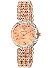 Swisstone L4018RG-GLD Rose Gold Dial Rose Gold Bracelet Analog Wrist Watch For Women/Girls