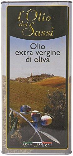 L'olio dei sassi 5 litri - olio extravergine di oliva