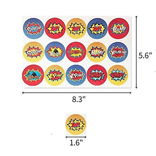 519mz7hTxeL - Juego de decoración de cumpleaños de superhéroes (31 Piezas) - Globos de Colores con pancartas de superhéroes y pancartas de superhéroes, decoración de Pasteles, Pegatinas y muñequera para niños