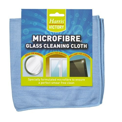 LG Harris Microfibre Glass Cleaning Cloth by Harris -
