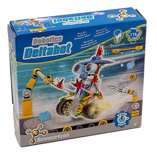 Science4you-Robotics Deltabot Juguete científico y...