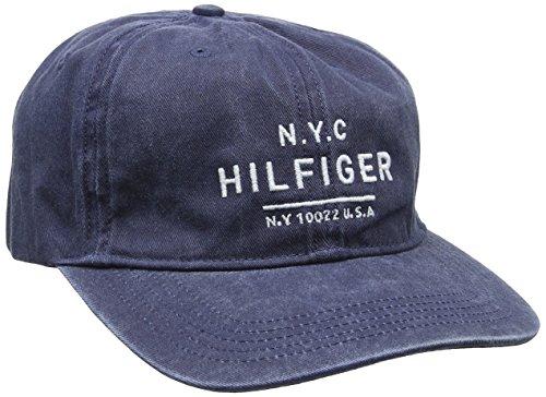 Tommy Hilfiger Herren Baseball Calder Gmd Cap, Blau (Navy Blazer 416), One size (Herstellergröße: OS)