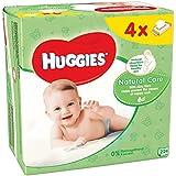 Huggies Natural Care Quattro Lingette 4 Paquets de 56 Unités