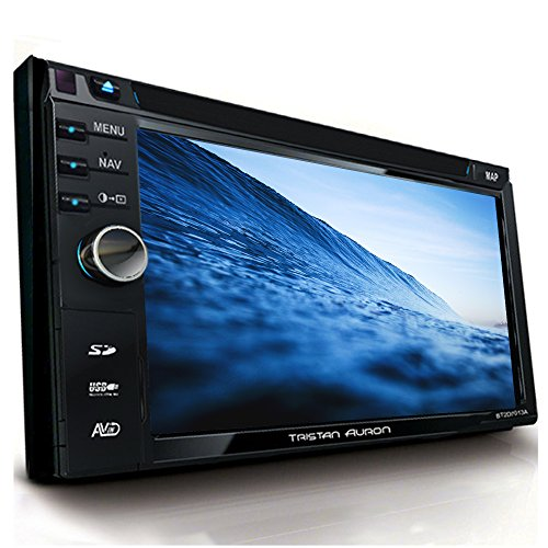 Tristan Auron BT2D7013A Autoradio 6,5'' Touchscreen Bildschirm ausfahrbar Navi Europa Bluetooth Freisprecheinrichtung USB/SD Slot CD/DVD 2 DIN DAB+