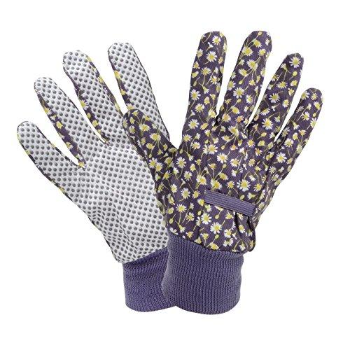 Briers Daisy Mehrzweck-Gartenhandschuhe Floral Print Home Garten lila Lavendel Damen Medium