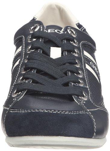 Geox U Andrea P, Baskets mode homme Bleu (C4007)