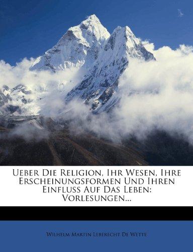 Ueber die Religion