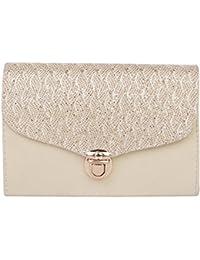 ROVEC Fancy Stylish SLING Bag For Women & Girls (silver)
