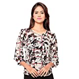 Ossi Regular Fit Off White Floral Long S...