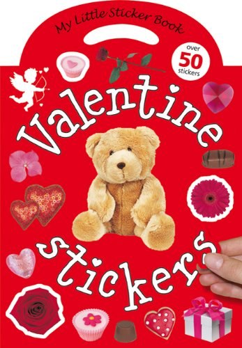 My Little Sticker Book Valentine: Over 50 Stickers [With Reusable Stickers] por Roger Priddy