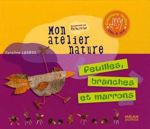 Feuilles, branches et marrons par Caroline Legros