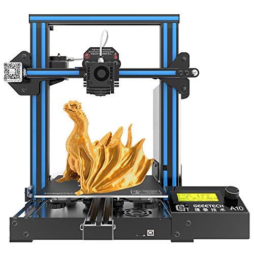 GIANTARM Imprimante 3D Geeetech A10pro avec Grand Espace d'installation, Kit de Montage Rapide à...